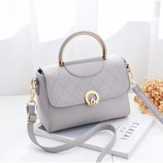 Korean Fashion Style Babosarang Tas Batam Wanita Korean Fashion Style Diagonal Motif Multifungsi BS5