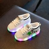 Harga Termurah Baby Fashion Sneaker Led Luminous Star Anak Balita Kasual Warna Warni Lampu Sepatu