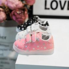 Jual Baby Fashion Sneakers Led Luminous Anak Balita Kasual Sepatu Lampu Penuh Warna Intl Ori