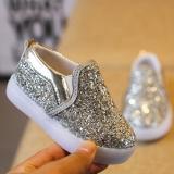 Jual Baby Fashion Sneakers Led Luminous Anak Balita Kasual Sepatu Lampu Penuh Warna Intl Online Di Tiongkok