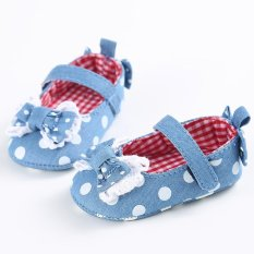 Beli Bayi Gadis Balita Cute Crib Sepatu Slip On Kenyamanan Sepatu Loafers Lembut Prewalker Anti Slip Her Secara Angsuran
