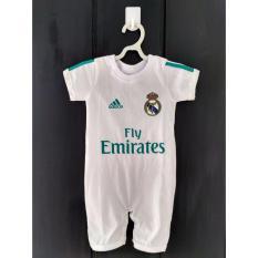 Spesifikasi Baby Romper Jersey Real Madrid Fc Home 2017 Dan Harganya
