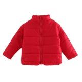 Beli Barang Baby Winter Padded Katun Jaket Untuk Girls Boy Zipper Mantel Nilon Merah 90 Intl Online