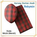 Harga Babymix Sarung Anak Instant Kode Mix 20 Merah Babymix Asli