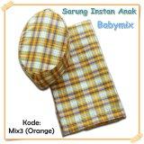 Harga Termurah Babymix Sarung Anak Instant Kode Mix 3 Orange