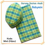 Beli Barang Babymix Sarung Anak Instant Kode Mix 5 Hijau Uk 5Th Online