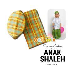 Harga Hemat Babymix Sarung Instan Anak Shaleh Mix 01 Baju Koko Peralatan Sholat 1Tahun