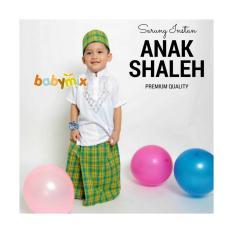 Babymix - Instant Gloves Son Shaleh Mix 05 + Baju Koko - Prayer Equipment - 3Tahun