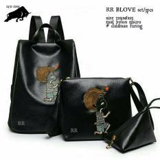 Backpack Bordir Rr No Brand Diskon 30