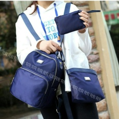 Promo Backpack Karanggo 3In1 Navy