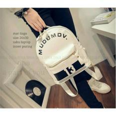 Spesifikasi Backpack Korean Style Mudumdv13 Tas Ransel Wanita Korean Style White