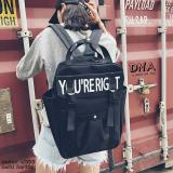 Dapatkan Segera Backpack Korean Style You Re Right Tas Ransel Wanita Korean Style Black