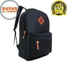 Backpack Outdoor Tas Sport Simpel Casual - Black
