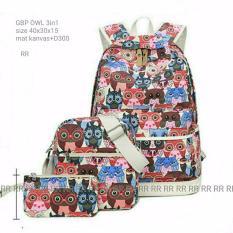 Backpack owl 3 in 1