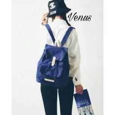 PROMO/Ayunesfashion Backpack Fashion/Ransel Serut Venus/ Tas Remaja/Sekolah/Kuliah/Serut