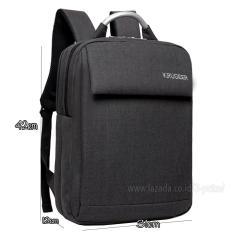 BackPack / Tas Ransel / Backpack Laptop / Ransel Laptop / Tas Punggung / Ransel Kerja / Tas Kerja - 3P Krugeer BackPack ( Black )