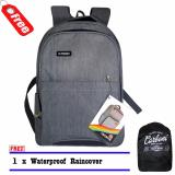Harga Backpack Tas Ransel Carboni Ra00016 Mf 17 Inch Original Grey Raincover Carboni Online