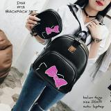 Spesifikasi Backpack Tas Ransel Korean Style 2 In 1 Hello Kitty Head Backpack Tas Ransel Pouch Black Yang Bagus Dan Murah