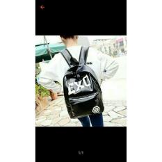 Cuci Gudang Backpack Wanita Vielin Exo Hitam