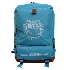 Harga Backpack Tas Punggung Tas Ransel Ransel Sekolah Travel Bag Pria Wanita 3P New Bts Backpack Light Blue Backpack Baru
