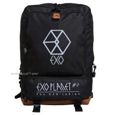Review Backpack Tas Punggung Tas Ransel Ransel Sekolah Travel Bag Pria Wanita 3P New Exo Backpack Black Terbaru