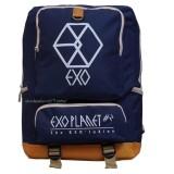 Harga Backpack Tas Punggung Tas Ransel Ransel Sekolah Travel Bag Pria Wanita 3P New Exo Backpack Dark Blue Termahal