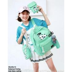 promo tas anak / sekolah backpack/tas ransel/tas punggung/tas sekolah/tas travel bag 4 in 1 fashion bandoeng MP  (TANPA BONEKA)