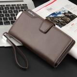 Penawaran Istimewa Baellerry Dompet Bisnis Unisex Baellery Simple Dan Elegan Card Holder Coklat Terbaru