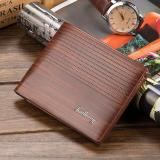 Review Baellerry Dompet Kulit Pria Original Import Cokelat