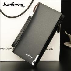 Baellerry Dompet Premium Pria Wanita Panjang SW002 - Hitam