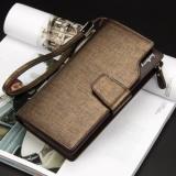 Review Baellerry Dompet Pria Model Panjang Gaya Korea Ada Tempat Kartu Dan Koin Bahan Kulit Dan Tali Gantungan Tiongkok