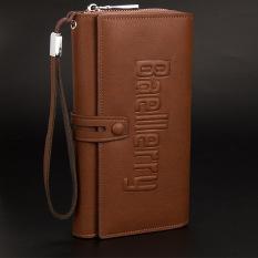 Model Baellerry Laki Laki Kapasitas Besar Clutch Bag Kasual Clutch Dalam Coklat Tas Tas Wanita Dompet Wanita Terbaru