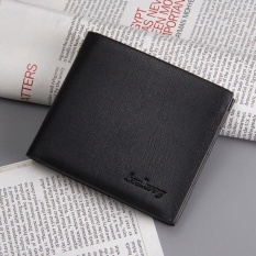 Katalog Baellerry Pria Kasual Pendek Bifold Wallet Warna Hitam Intl Baellerry Terbaru
