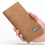 Harga Baellerry Pria Panjang Dompet Korea Versi Multi Card Bit Ultra Tipis Dompet Pria Fashion Brown Intl Baellerry Online