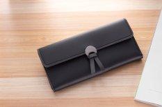 Jual Baellerry Baru Desain Wanita Dompet 3 Lipat Pu Kulit Yang Korea Multi Kartu Bit Dompet Wanita Hitam Di Tiongkok