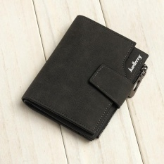 Promo Baellerry New Matte Leather Wallet In The Long Section Of Multi Functional Purse Black Intl Tiongkok