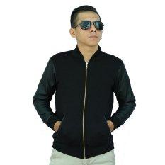 Harga Bafash Jacket Leather Fleece Bz21 Hitam Dan Spesifikasinya