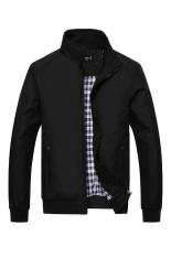 Promo Bafash Jacket Men Sportwear Windcheater Hitam Jawa Barat