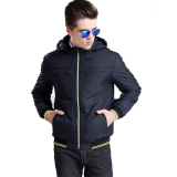 Harga Bafash New Men Casual Jacket Zipper Pocket Detachable Black Branded