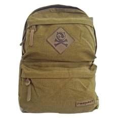 Toko Bag Stuff Canvas Respect Backpack Khaki Online Di Jawa Barat