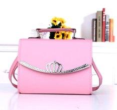 Tas Rown Baru Han Edisi Tas Kecil Fashion Ladies Fashion Handbags Satu Bahu Aslant Portable Tas Wanita-Intl