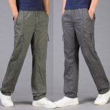 Harga Bagian Tipis Pria Celana Kasual Hitam Celana Pria Celana Panjang Pria Celana Chino Celana Cargo Asli