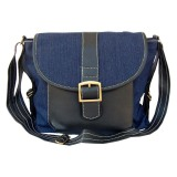 Situs Review Baglis Denim Sling Bag 01 Hitam
