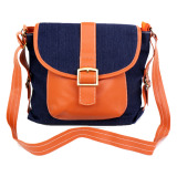 Beli Baglis Denim Sling Bag 01 Orange Baglis