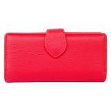 Spesifikasi Baglis Dompet Simple Wanita Merah Lengkap