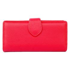 Spesifikasi Baglis Dompet Simple Wanita Merah Murah