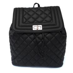 Jual Baglis Violet Women Backpack Black Branded