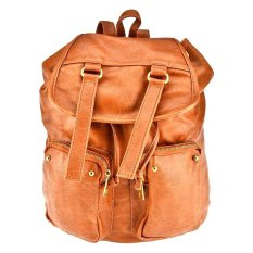 Promo Bagtitude Dania Backpack Light Brown Akhir Tahun