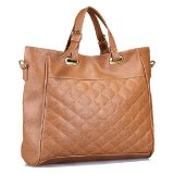 Ulasan Bagtitude Kourtney Tote Bag Light Brown