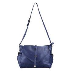 Harga Bagtitude Krista Messenger Bag Navy Blue Online Jawa Barat